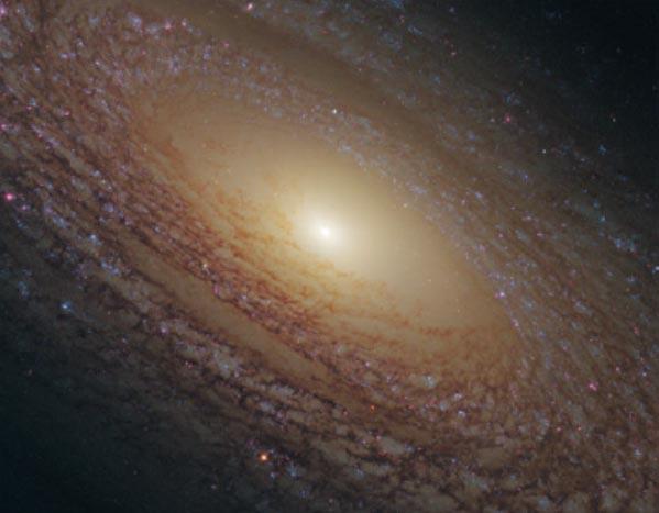 NGC2841 galaksisi
