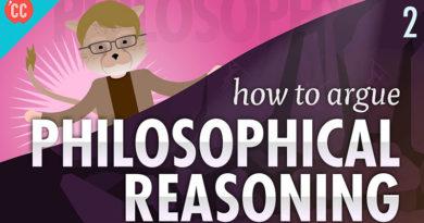 felsefi akıl yürütme nedir?