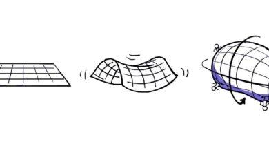 uzayın şekli nedir? Düz mü, hiperbolik mi, patates mi?